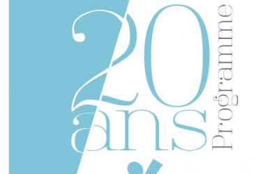 Programme du 20ème anniversaire d'Espoir 54 – 8 au 14 octobre 2018