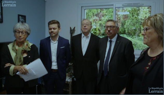 Le Républicain Lorrain : inauguration de la MaPH-Psy de Briey