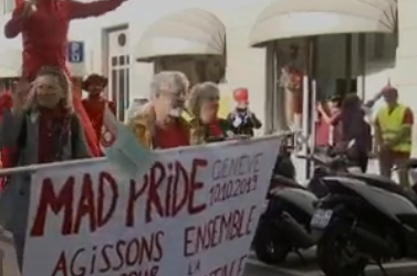 Reportage Mad Pride Genève