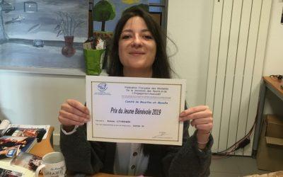 Romane, récipiendaire du Prix du Jeune Bénévole 2019