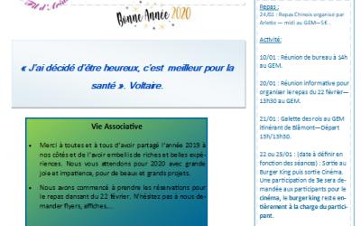Bulletin mensuel «Le Fil d'Ariane»