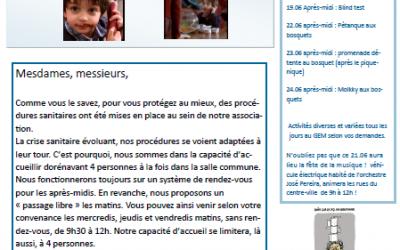 GEM Le Fil d'Ariane : bulletin mensuel juin 2020