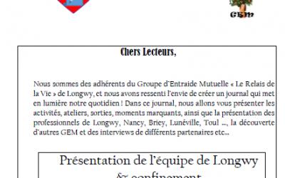 Bulletin du GEM Longwy 2ème trimestre