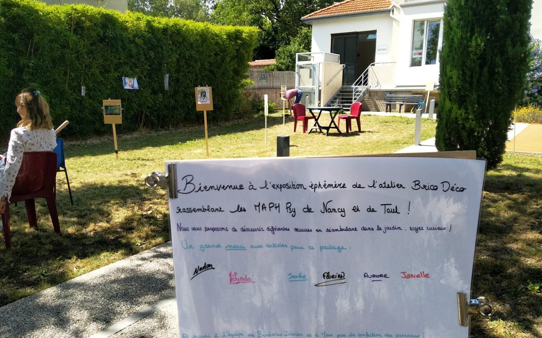 Atelier BricoDéco pour les MaPH-Psy de Nancy et Toul