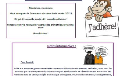 GEM Le Fil d'Ariane : bulletin de Février